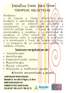 volante oroginal terapias enero 2015