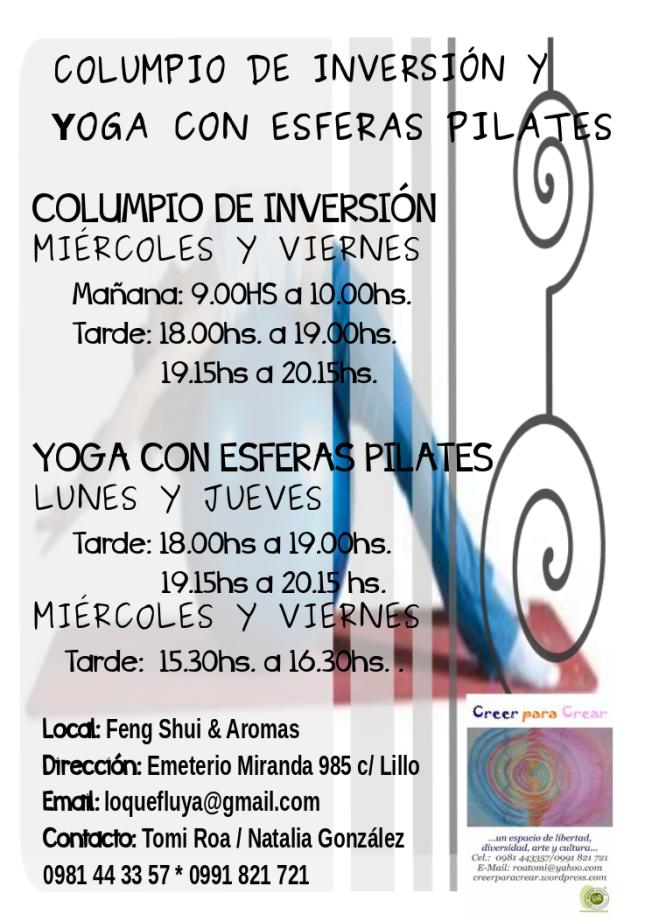 volante version pilates 24 octubre