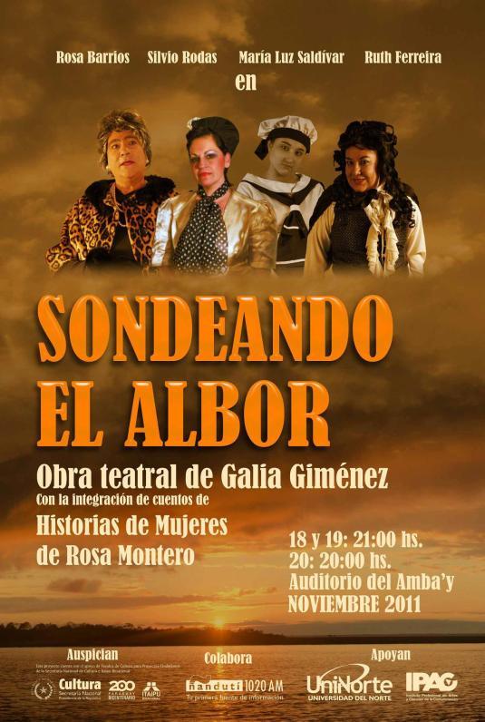 obra teatral de Galia Giménez con integración de cuentos de Historias de Mujeres de Rosa Montero