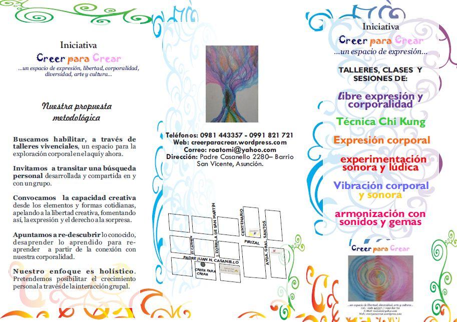 ACTIVIDADES CREER PARA CREAR 2012 | Creer para Crear | Página 10