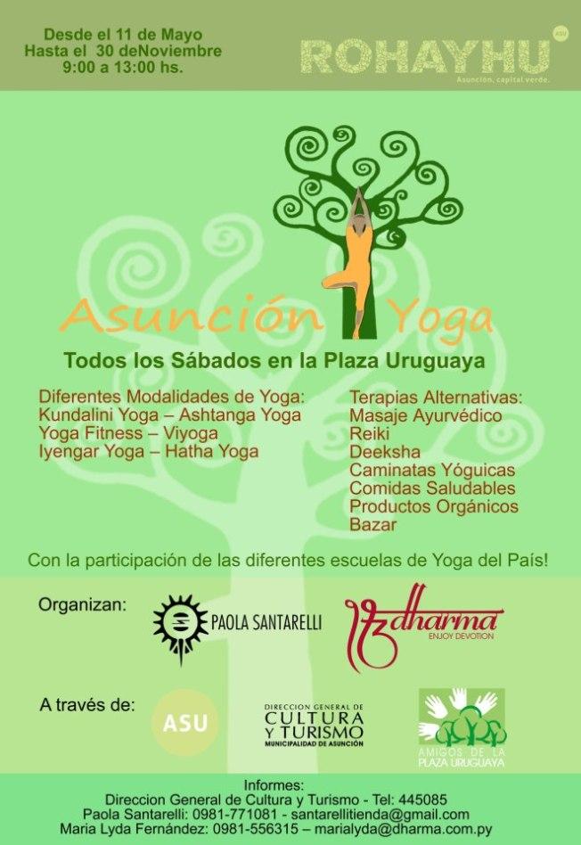 asunción yoga may0 2013