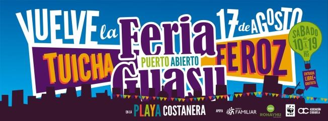Feria Guasu 17 agosto Portada