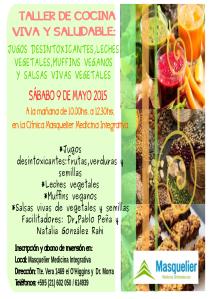 afiche clase de cocina mayo