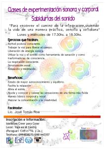 clases sonorizacion 2015